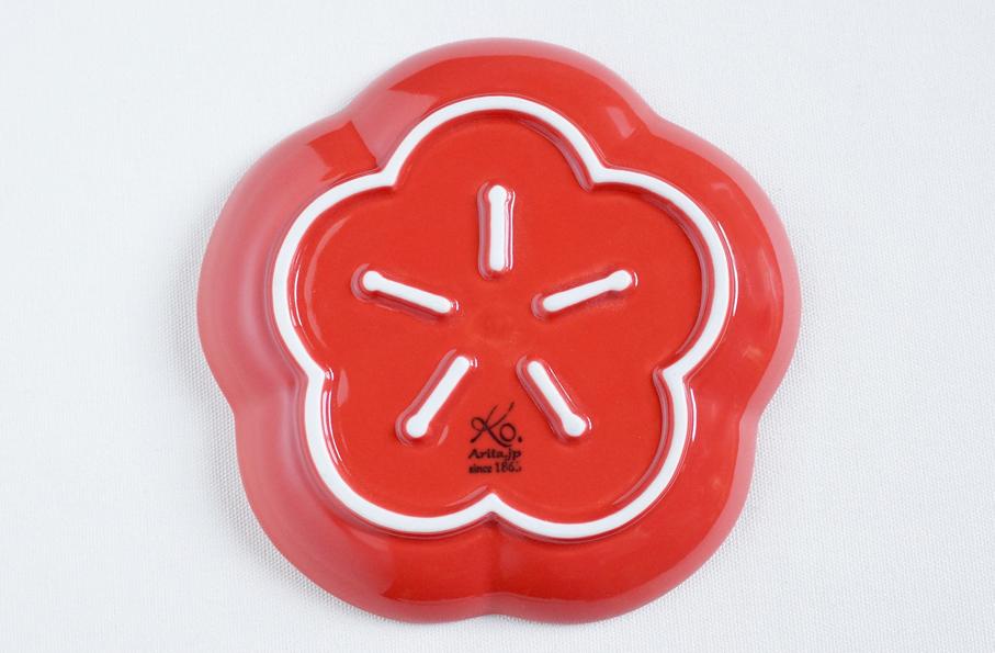 和食器通販 金照堂 香梅 プレート(S)(赤)or(白)