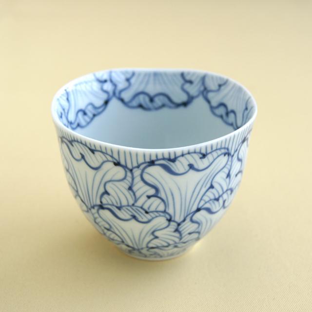 【和食器通販 金照堂】そうた窯 染付 花弁紋 フリーカップ