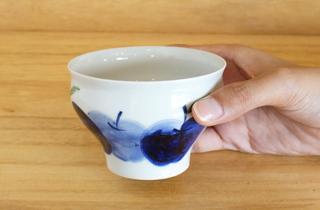 【和食器通販 金照堂】 波佐見焼敏彩窯 りんご園 仙茶
