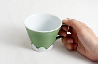 和食器通販 金照堂 富士山 マグカップ(赤)or(緑)or(黄)or(青)