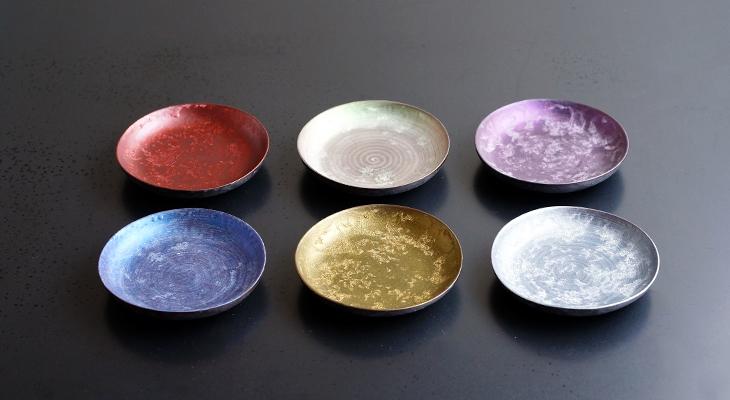 【和食器通販 金照堂】  麟 Lin(りん) 麟 Lin 10cm丸小皿(6色)