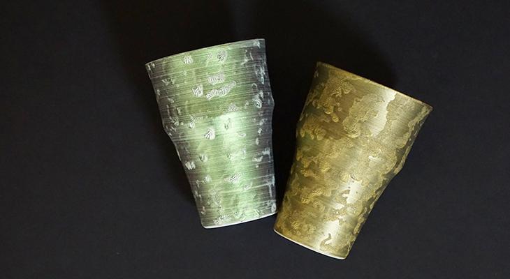【和食器通販 金照堂】  麟 Lin(りん) 竹型カップ(6色)